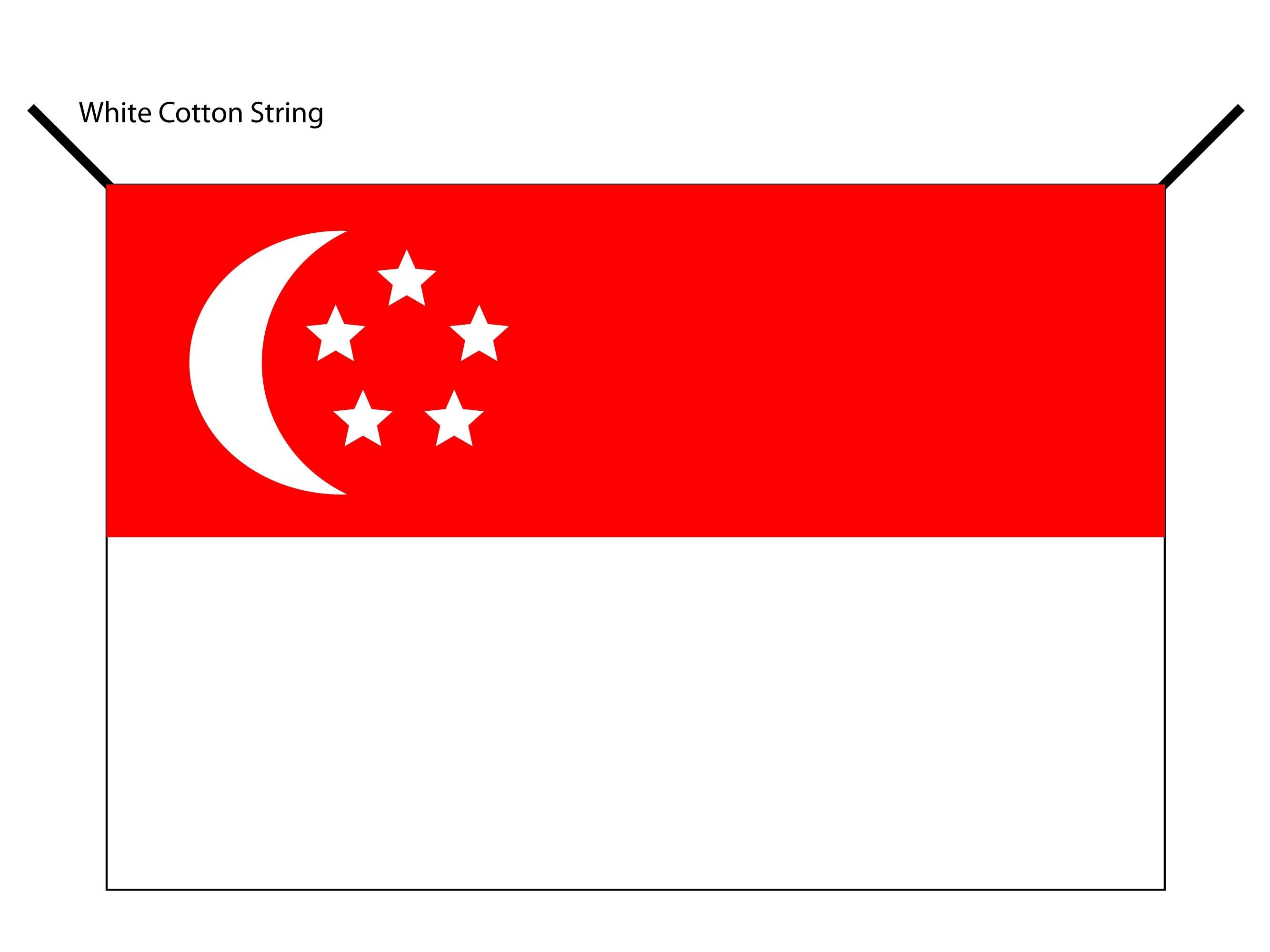 Singapore HDB Flag