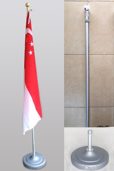 Flag Stands (Silver)