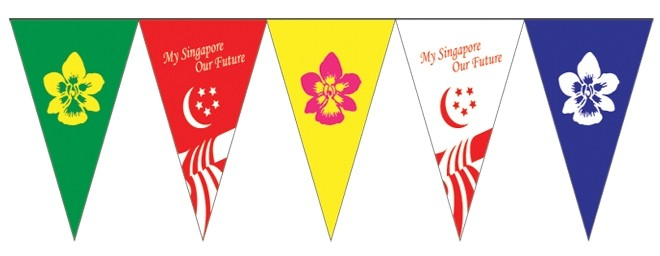 Triangle Cloth Pennants NH8D